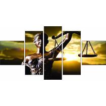 Quadro Decorativo Advocacia Deusa Da Justiça Grande