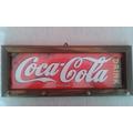 Quadro Decorativo E Porta Chaves Bar Refrigerante Coca Cola