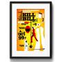 Quadro Filme Kill Bill Cenas Tarantino Decorativo Paspatur