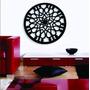 Mandala Decorativa 90x90cm Em Escultura De Mdf Pintura Laca
