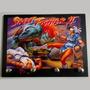 Porta Chave Placa Decorativa Street Fighter Games Ryu Ken Sf
