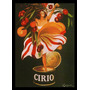 Quadro Poster Decorativo Vintage A3 29x42cm Molho Cirio