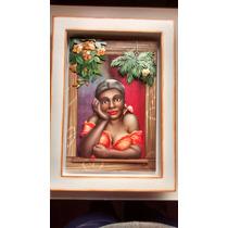 Quadro A Namoradeira De Vermelho-arte Francesa