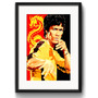 Quadro Bruce Lee Kung Fu Luta Arte Decoracao Paspatur
