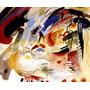 Oriente Ii Ásia Grande Pintura Abstrata Kandisnky Tela Repro