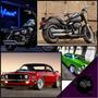 Placas Decorativas Motos Harley Davidson, Retrô, Carros Anti
