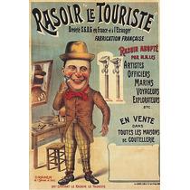 Homem Barba Barbearia Chapéu Poster Repro