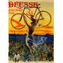 Cartaz Poster Vintage França Bicicleta Mulher Nua Voando