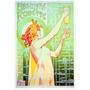 Cartaz Poster Vintage Absinto Robette Mulher Nua França