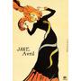 Cartaz Poster Vintage França Jane Avril Famosa Dançarina