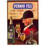 Cartaz Poster Vintage Absinto Pernod Fils Bebida França