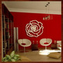 Quadro Escultura Parede Mdf C/pintura Art Flores/rosas Deco