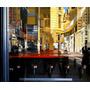 Bar Restaurante Moderno Boate Pintor Richard Estes Tela Repr