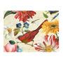 Placa Decorativa Pássaro Vermelho Grande