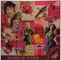 Tela Impressa Fotos Vintage Pink Fullway