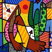 Romero Brito - Releitura 60x60 Valor Por Unidade