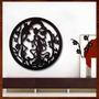Quadro Decorativo Escultura De Parede Mandala Vazada Em Mdf