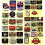 Placas Vintage King Adesivadas - Mdf Hard 40x28 - 86 Modelos