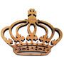 Coroa Mdf Cru Provençal Decoração Festa Aplique Parede 60cm