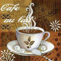 Placa Decoração Retro Vintage Xicara Café Cozinha - Novidade