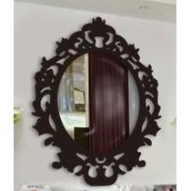 Moldura Provença Mdf Espelho,decoração Festa Pequena 30x30cm