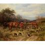 Cavalhos Cachorros Caçada Inglaterra De Hardy Na Tela Repro