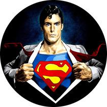 Quadro Personalizado Em Vinil,superman, Super Homem
