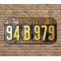 Placas Antigas De Carros Decoração Retro Vintage
