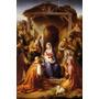 Natividade Virgem Maria Menino Jesus Magos Rohden Tela Repro