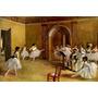 Balé Dança Aula Bailarinas Ensaio Pintor Degas Tela Repro