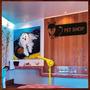 Quadro Escultura Em Mdf Vazada Para Decoração De Pet Shop