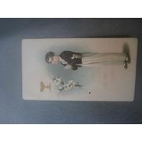 Cartão Antigo;primeira Comunhão