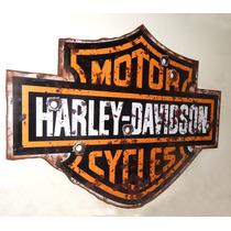 Quadros Harley Davidson Vintage Antigo Coca-cola Rustico