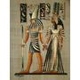 Papiro Egipcio 32x43cm Egito Hórus Deus Ra Isis Neftis Pm10