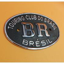 Emblema Br Touring Club Para Carros Antigos Em Geral