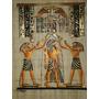 Papiro Egipcio 32x43cm Egito Hórus Energização Toth Pm14