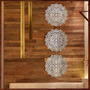 Quadros Decor Esculturas De Parede Em Espelho Trio Mandalas