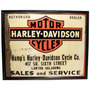 Placas Retro Vintage Motos Harley Davidson Indian