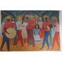 Gravura Antiga Reprodução Djanira Festa Popular