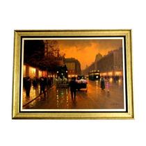 Achado Pintura Oleo Candido Oliveira 99x70cm