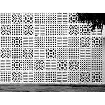 Divisória Ambientes Painel Mdf Elemento Vazado Módulos 50cm