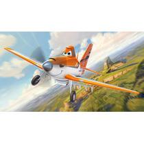 Painel Para Festa Infantil 2x1m,aviões Banner Infantil