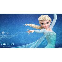 Painel Para Festa Infantil 2x1m,frozen Banner Infantil