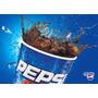 Placa Decorativa (15185) Bebida Pepsi Bar Refrigerante