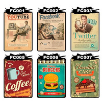 Placas Decorativas Vintage Retro Cerveja Coca Cola Antiga!!!