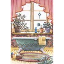 Placas Trio Banheiro Antigo Quadro Vintage - Oficina Retrô !