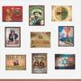 Placas Decorativas Antigas Vintage Retro 15x21 Cm Em Mdf