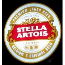 Luminoso Cerveja Stella, Heineken, Budweiser