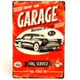 Placa Decorativa - Garage Mechanic On Duty!