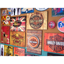 Placas Decorativas Hq Vintage Retro Super Heróis Mdf